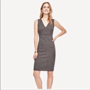 3/$20 Ann Taylor Petite Sleeveless Sheath Dress